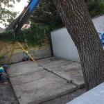 Základy sú, ešte zašpárovať diery a hurá na konštrukciu, september 2017