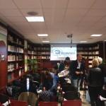 Konferenčná miestnosť v knižnici, Konferencia EUNWA, október 2015