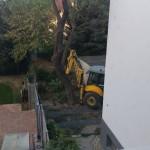 Je potrebné spraviť priestor na betónový základ, august 2017