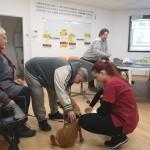 Stretnutie s veterinárkou