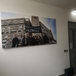 Miestnosť s trvalou výstavou o histórii Pentagonu