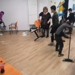 Deti nám pomáhajú upratovať :)