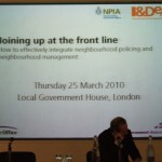 """Konferencia """"Joining up at the front line"""" Londýn 2010"""