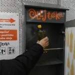 Otvorené, môžme uložiť použitý kuchynský olej, december 2017
