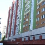 Fasáda bytového domu na Rovniankovej ulici