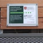 Informačná tabuľka na kontajnerovom stojisku