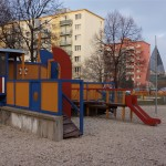 Protiľahlé detské ihrisko, december 2016