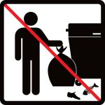 Neodkladajte odpad mimo zberné nádoby!