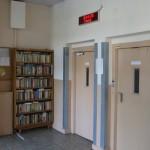 Knižnica pre obyvateľov domu, jún 2015